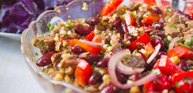 Салат Тбилиси – 5 рецептов по-грузински