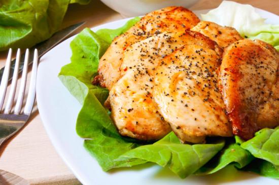 Куриное филе с медом и лимоном для тех, кто на диете. На 100 грамм всего 137 ккал