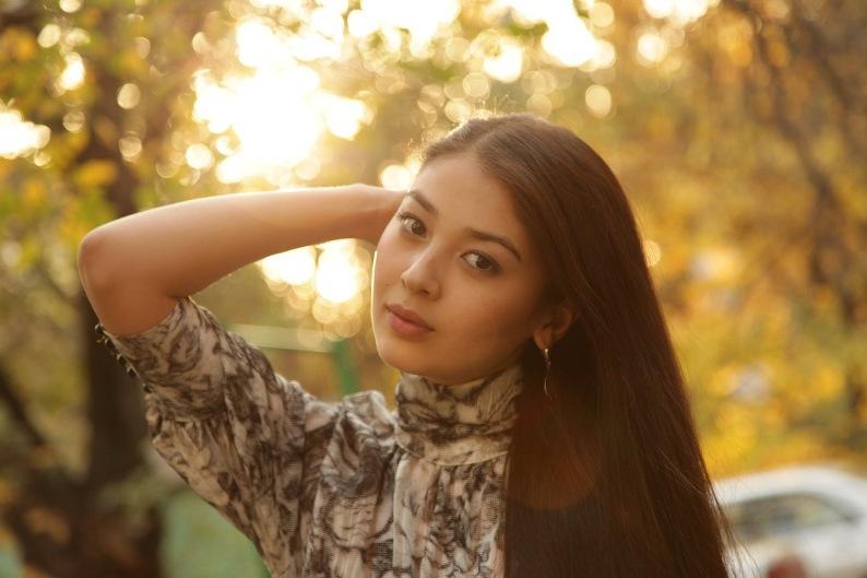 Красивые телки казахстана