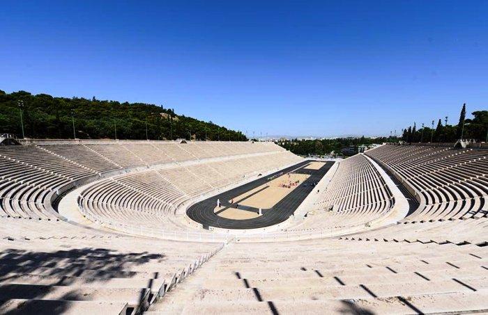 Стадион Панатенаикос в наши дни (Афины).