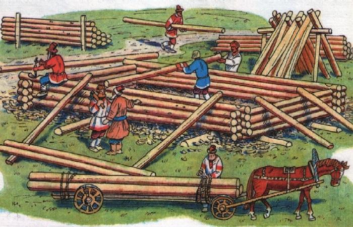Как на Руси выбирали, где дом построить, а Какие места называли «нехорошими» и обходили стороной история,ремонт и строительство
