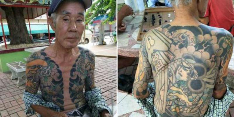 Полиция опознала беглого якудза-убийцу, увидев его фотографии в фейсбуке