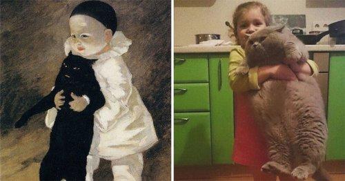 Интернет-пользователи создают косплей на произведения искусства