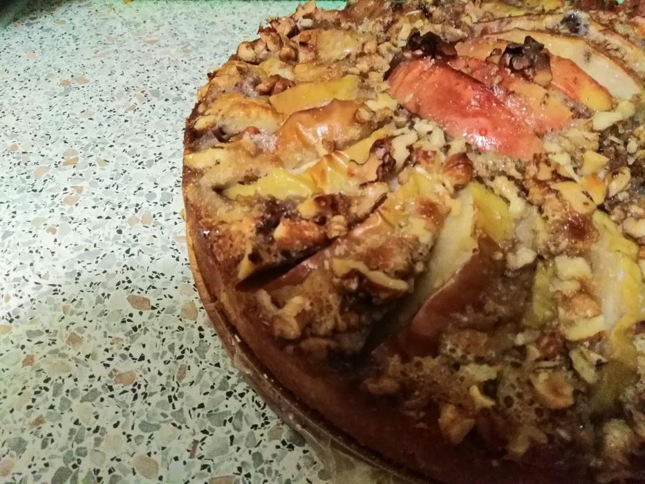 Яблочный пирог «Солнечный» с…