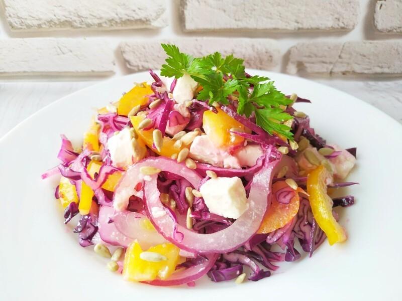 Новый салат из капусты, у этого салата нет конкурентов, очень вкусный! салаты