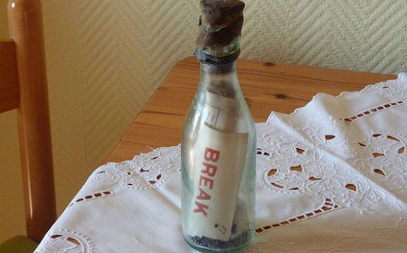 История самого древнего послания из бутылки