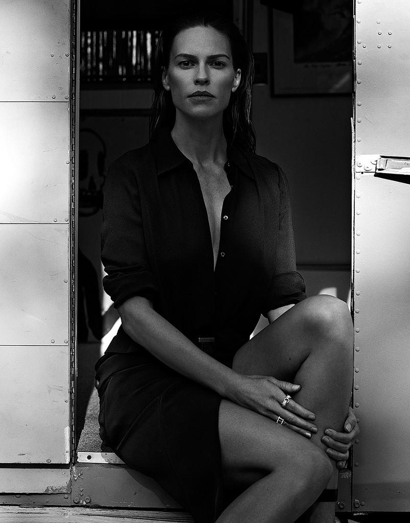 Хилари Суонк — Фотосессия для «Interview» DE 2015