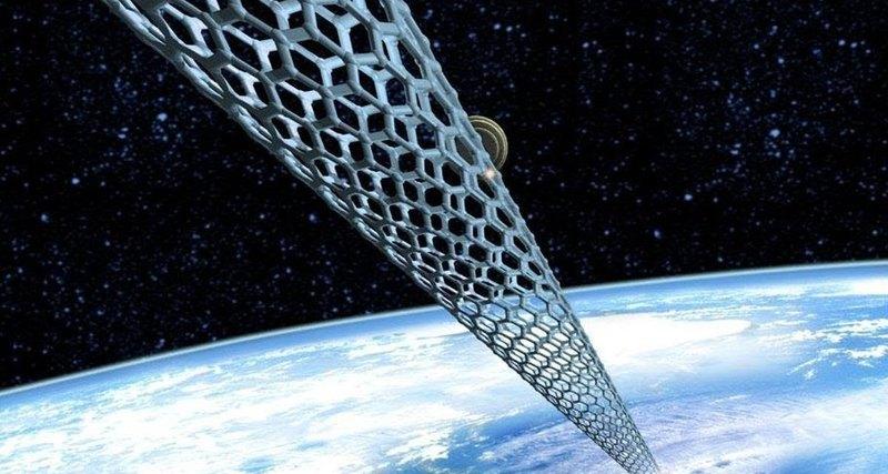 Невероятно прочный материал дляпостройки космического лифта