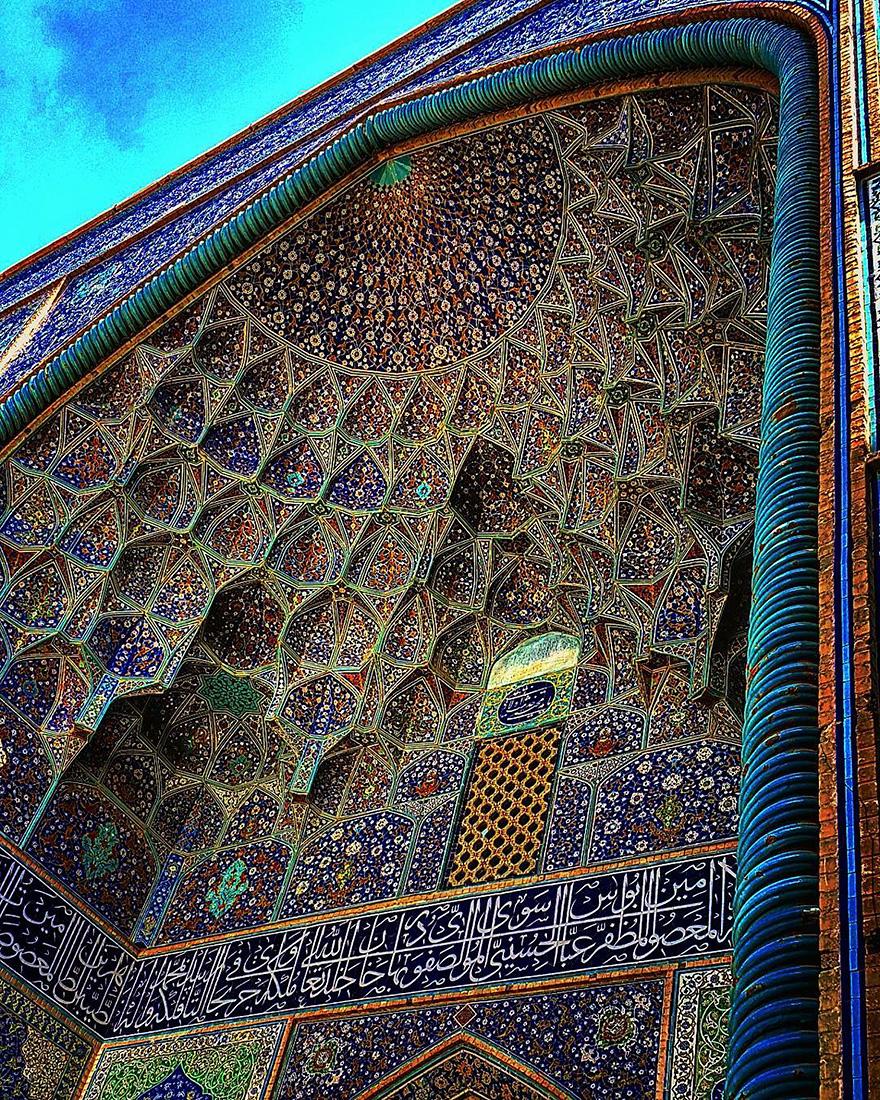 Гипнотизирующая красота иранских мечетей