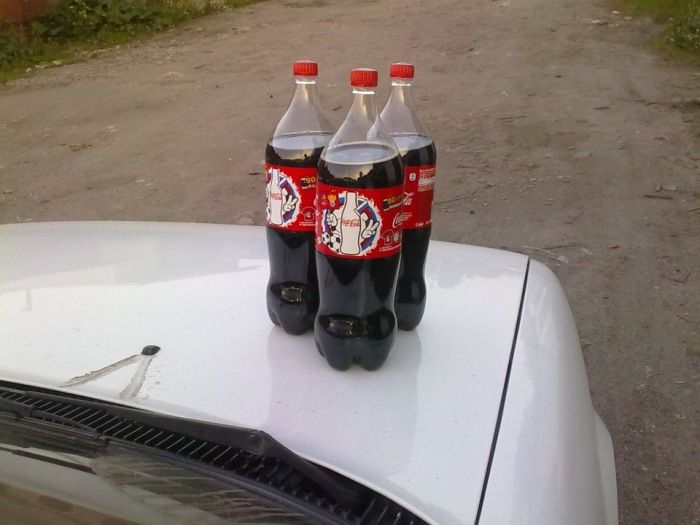 Польза Coca-Cola для двигателя автомобиля