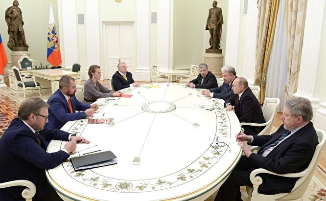 Грудинин попросил Путина о помощи в связи с делами, начатыми против него перед выборами
