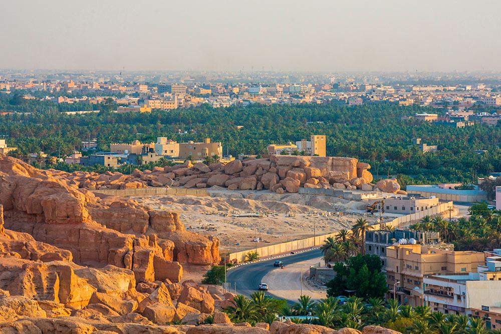 ВСаудовской Аравии построят «город безавтомобилей»