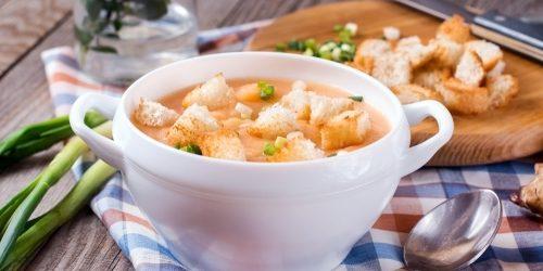 Топинамбур рецепты: Крем-суп из топинамбура