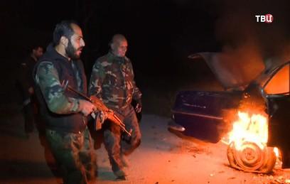 Боевики сорвали первую гуманитарную паузу в Восточной Гуте