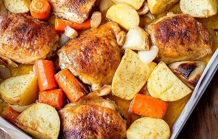 Картинки по запроÑу Куриные бедра в картофельном кольце — вкуÑный ужин вам обеÑпечен!
