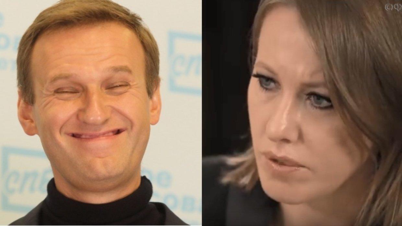 Собчак против Навального: война «до последнего гвоздя в крышке гроба»
