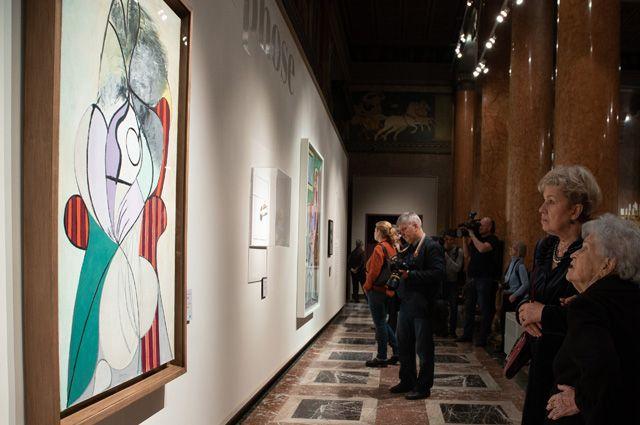 Выставку «Пикассо & Хохлова» за три недели посетило более 35 тысяч человек
