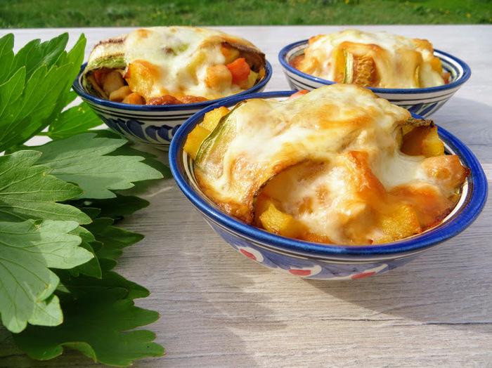 Овощи с мясом в духовке горячие блюда,кулинария,мясные блюда,овощные блюда