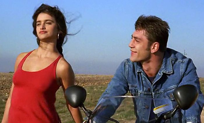Пенелопа Крус и Хавьер Бардем, кадр из фильма «Ветчина, ветчина». / Фото: www.spanishfilmfestival.com