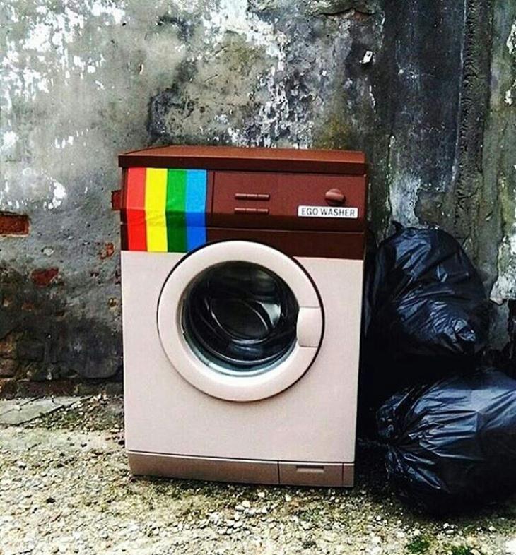 стиральные машины смешные картинки отрастить брови