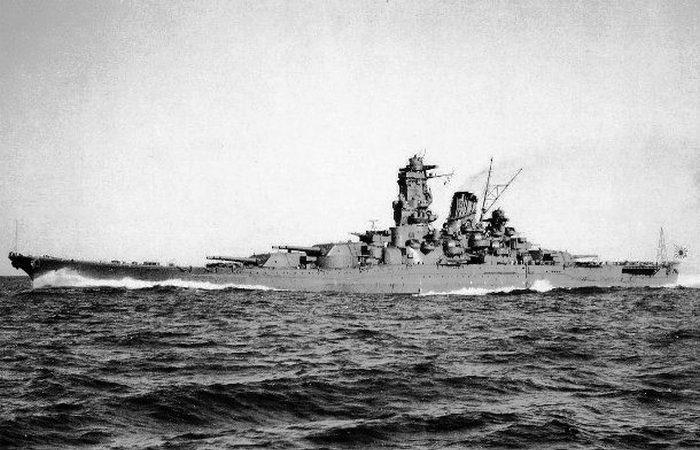 Линкор «Yamato».