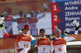 Золото в слаломе на Олимпиаде в Пхенчхане выиграл швед Мюрер