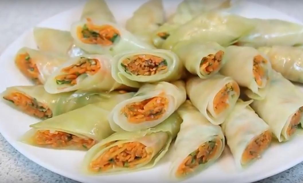 Быстрая пикантная закуска по-корейски