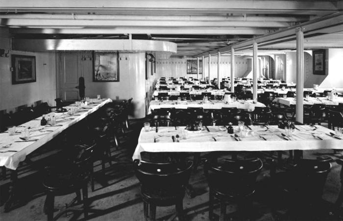 Меню, которое предлагали пассажирам Титаника