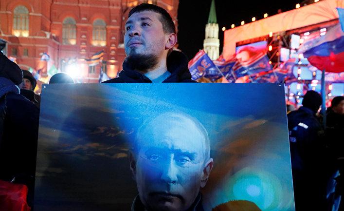 Delfi.lv, Латвия. Путин и народ едины: их обманули!