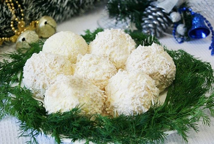 Сырные шарики рафаэлло рецепт с фото