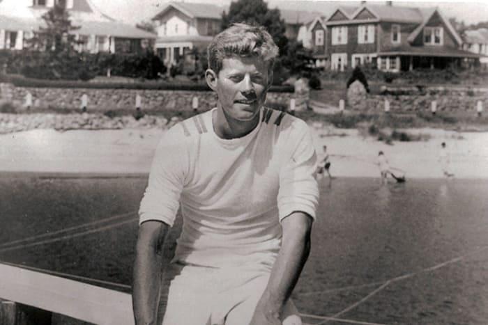 Джон Кеннеди в студенческие годы | Фото: 24smi.org