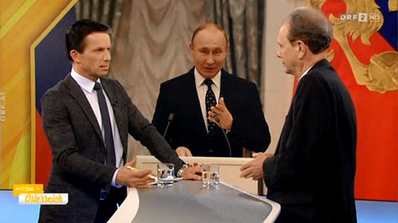 ORF: в противовес Западу Путин предложил успешную авторитарную модель
