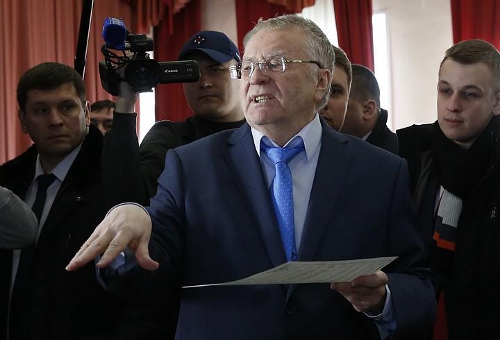 Жириновский недоволен «бронзой»