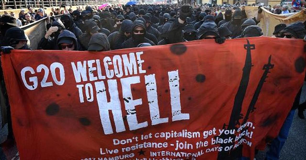 Варламов о протестах в Гамбурге, краткое содержание