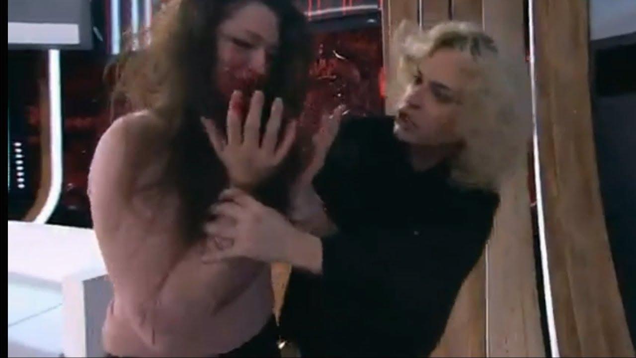 Картинки по запросу жена гогена в прямом эфире избила дочь