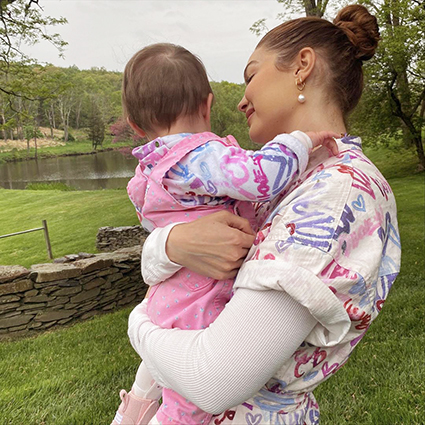 Джиджи Хадид поделилась новыми снимками, сделанными во время беременности Новости