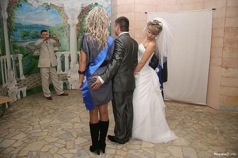 19 безумных фотографий, которые вряд ли появятся в свадебном альбоме