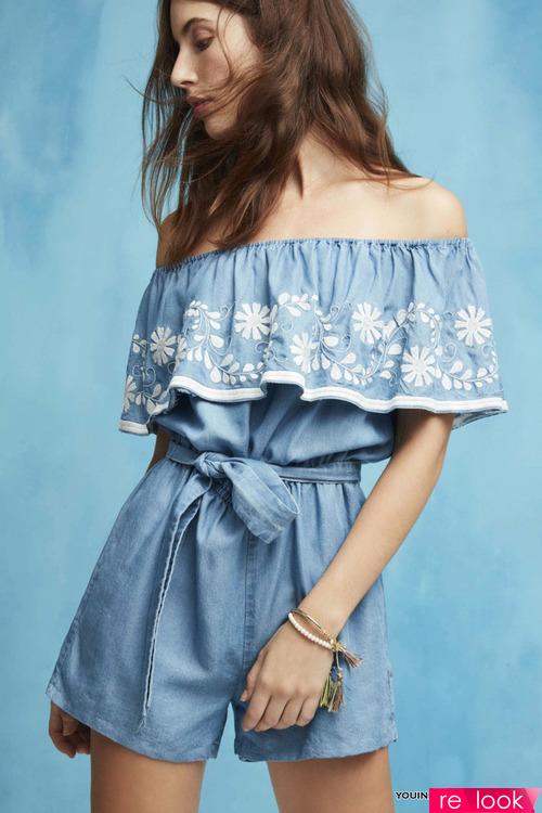 Для молодых и стройных — модные ромперы лета 2017