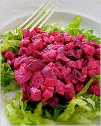 Нежный салат из сельди