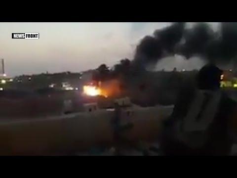 Ожесточенные столкновения иракской армии и ИГИЛ в городе Хит