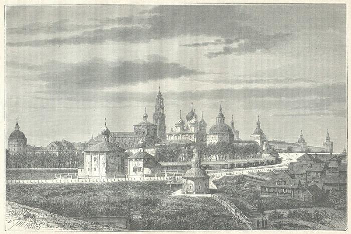 Монастырь расположенный в центре города Сергиев Посад Московской области, на реке Кончуре.