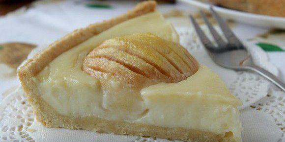 Рецепты пирогов с грушами: Пирог с грушами и заварным кремом