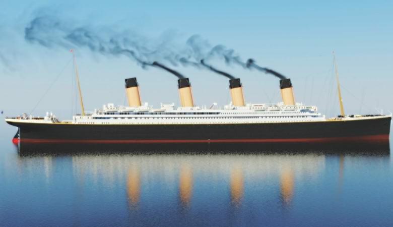 С затонувшего «Титаника» каж…