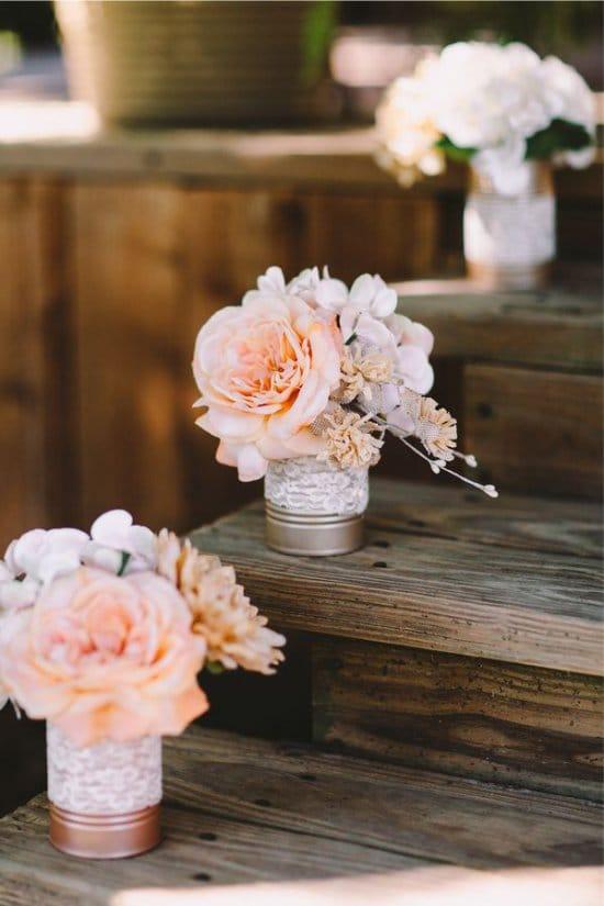Декор банок для свадьбы