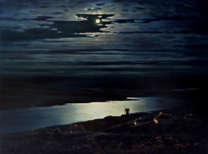 «Лунная ночь на Днепре»: мистическая сила и трагическая судьба картины А. Куинджи