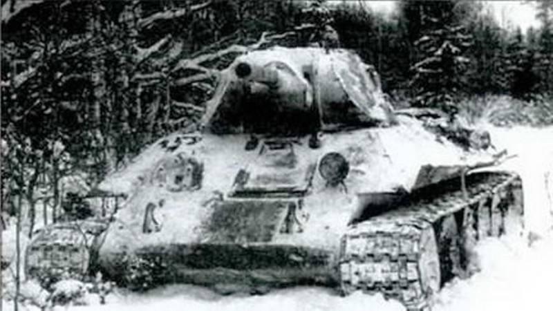 Танк Ткаченко: 13 суток круговой обороны в Т-34 увязшем в болоте