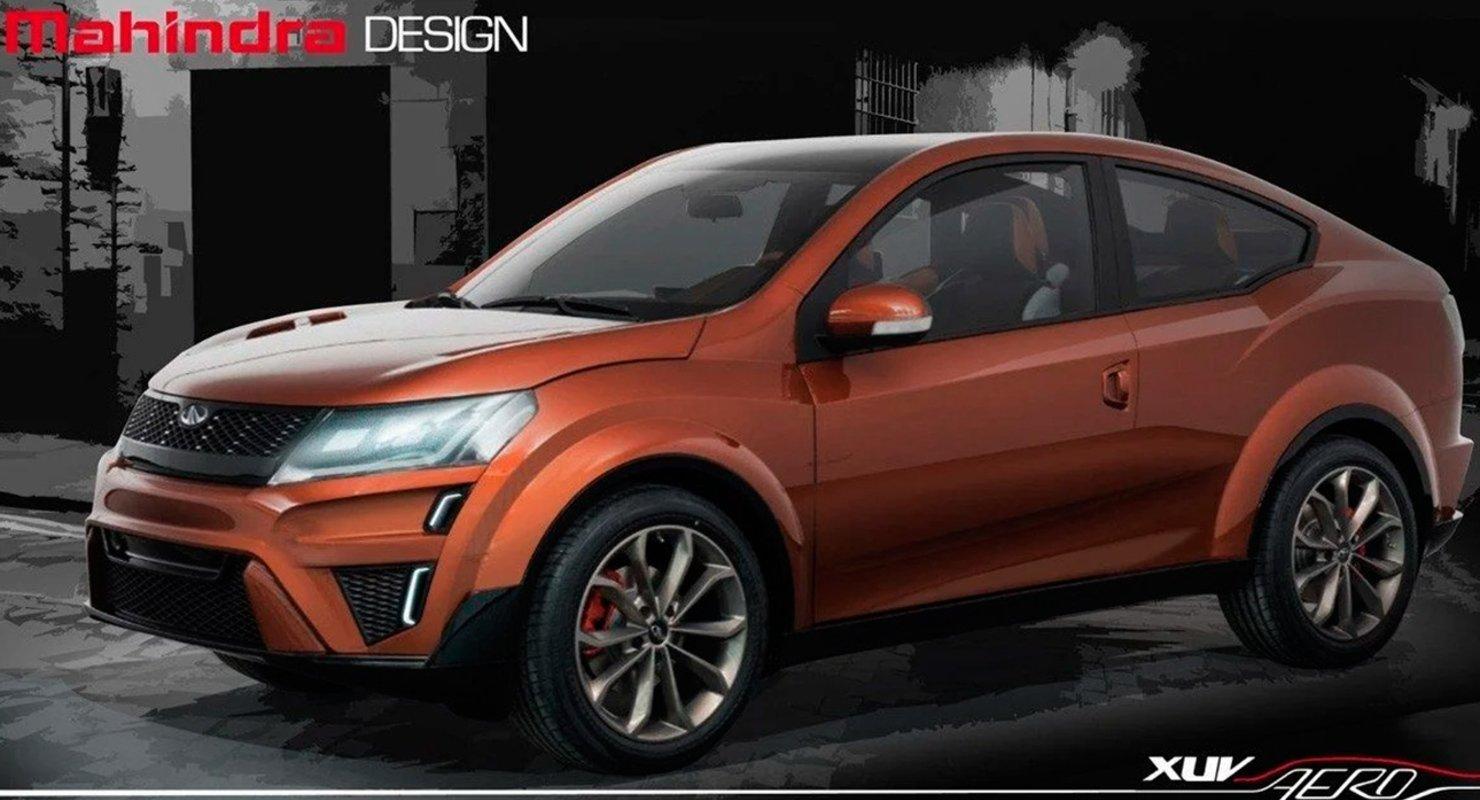 Mahindra выпустит купе-кроссовер XUV900 в 2024 году Автомобили
