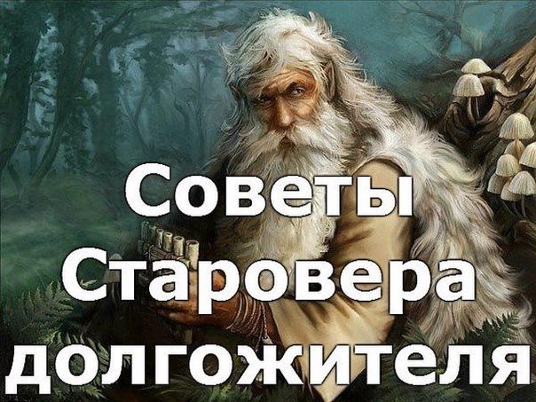 Советы Старовера долгожителя…