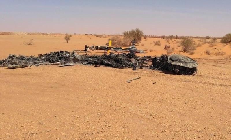 Турецкие СМИ сообщают о крушении вертолета с «российскими наёмниками» в Ливии Новости