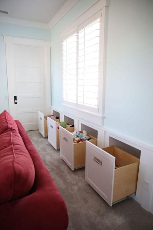 Добавьте место для хранения в своем доме с этими гениальными идеями